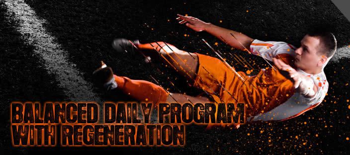 Balanced Daily Program with Regeneration
